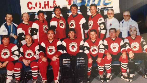 Team made up of residential school survivors recognized by Hockey Hall of Fame
